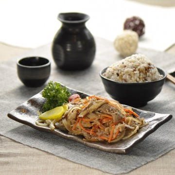 生薑豚肉二十穀米飯 Stir-fried Pork with Ginger Twenty Grain Rice_r1