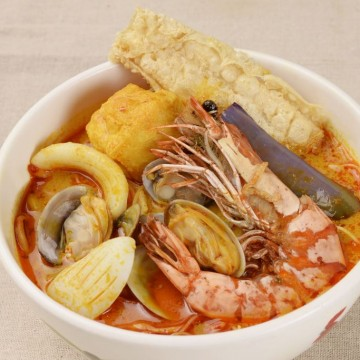 SEDAP 惹味馬拉 - 怡保咖喱海鮮叻沙