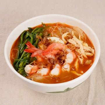 檳城蝦湯麵-s